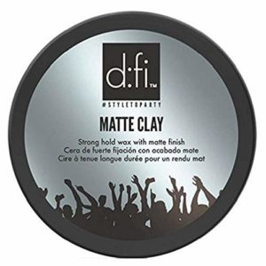 tub of styling cream matte clay